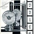 1957 Angelus Stolz Freres SA Double Face Reveil Publicite Swiss Print Ad Suisse