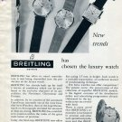 Vintage 1959 Breitling Has Chosen the Luxury Watch Swiss Ad Advert Suisse Switzerland