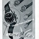 Vintage 1942 Record Watch Company Switzerland Original 1940s Swiss Print Ad Advert Suisse