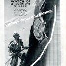 Vintage 1942 Pronto Watch Company Le Noirmont Switzerland Original 1940s Swiss Ad Advert Suisse