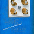Vintage 1942 Piaget & Co Watch Company Switzerland Original 1940s Swiss Print Ad Advert Suisse