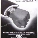 Vintage 1935 Omega Watch Company Switzerland L'Heure Exacte Pour La Vie 1930s French Ad