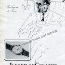 Vintage 1942 Jaeger-LeCoultre Geneve Switzerland 1940s Swiss Ad Advert Suisse
