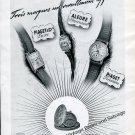 Vintage 1942 Piaget & Co La Cote-Aux-Fees Switzerland 1940s Swiss Ad Advert Suisse