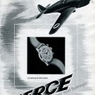 Vintage 1942 Pierce Chronograph Watch Advert 1940s Swiss Ad Advert Suisse Horlogerie Horology