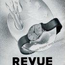 Vintage 1942 Revue Thommen SA Watch Company Waldenburg Switzerland 1940s Swiss Ad Advert Suisse