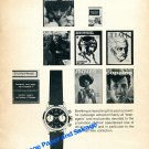 Vintage 1964 Breitling Watch Company Top Time Watch Advert Swiss Print Ad Suisse