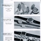 Vintage 1943 Swiss Watch Fair Jaeger-LeCoultre Omega Louis Brandt Rolex Patek Philippe Bale Basel
