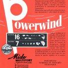 Vintage 1954 Mido Multifort Superautomatic Watch Advert Mido Watch Co Swiss Print Ad
