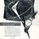 Vintage 1954 Longines Watch Company Symbol Pour Une Elite Eprise de Qualite Swiss Advert