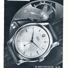 Vintage 1954 Arsa Precision Watch Advert A Reymond SA Switzerland 1950s Swiss Print Ad
