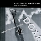 1942 Doxa Watch Company Le Locle Switzerland Vintage 1940s Swiss Ad Advert Suisse