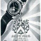 1943 Ernest Borel & Co. S.A. Switzerland Vintage 1940s Swiss Ad Advert Suisse
