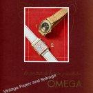Vintage 1942 Omega Watch Company Switzerland 1940s Swiss Print Ad Suisse Schweiz