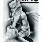 Vintage 1943 Mimo Watch Company Switzerland Original 1940s Swiss Print Ad Advert Suisse