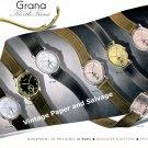 1942 Grana Watch Company Kurth Freres SA Switzerland Vintage 1940s Swiss Print Advert