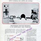Vintage 1968 Vibrograf Reno SA Switzerland 1960s Swiss Print Ad Advert Horology Horlogerie Suisse