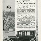 Vintage 1920 Rex Manufacturing Company Connersville Indiana Dodge Brothers Cars Automobiles Print Ad