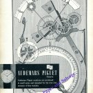 Audemars Piguet Watch Co For the True Connoisseur Vintage 1960 Swiss Print Ad Suisse
