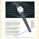 Vintage 1960 Enicar Ultrasonic Sherpa Watch Advert 3 Good Reasons Swiss Print Ad Suisse