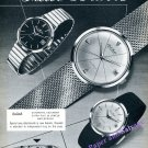 Vintage 1960 Paul Buhre Automatic Watch Advert RotoDatoR Swiss Ad Paul Buhré Watch Company