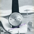 Vintage 1960 Mido Ocean Star Watch Advert Takes to Water Like a Marlin Swiss Print Ad Suisse