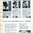 1960 Universal Geneve Watch Company Your Clients' Best Watch Should Be A Universal Swiss Ad