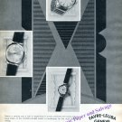 Vintage 1960 Favre-Leuba Watch Co Nearly a Century and a Half of Experience Swiss Print Ad