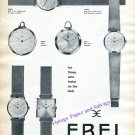 Vintage 1960 Ebel Watch Company For Those Who Insist on the Best Swiss Print Ad  Switzerland