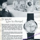 Vintage 1960 Vulcain Centenary Watch Advert Beauty Sells Itself 100 Years Swiss Print Ad Switzerland