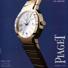 2001 Piaget Watch Company Beyond the Style The Emotion Ad Magazine Advertisement