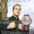 Zenith Watch Company Time Does Not Have the Same Appeal for Everyone Ad Advert