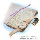 1946 Girard-Perregaux Watch Company Switzerland Vintage 1940s Swiss Print Ad