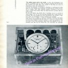 1960 Patek Philippe A Very Compact Crystal Clock 1960 Magazine Article Swiss Suisse