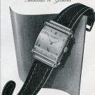 1948 Audemars Piguet & Co SA Watch Co Switzerland Vintage 1940s Swiss Print Ad Publicite
