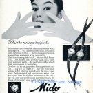 1956 Mido Powerwind Watch Advert Desire Unexpressed Vintage 1950s Swiss Print Ad