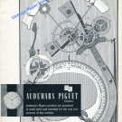 1959 Audemars Piguet Watch Company For the True Connoisseur Swiss Print Ad