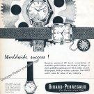 1959 Girard-Perregaux Gyrotron Gyromatic Watch Advert Vintage Swiss Print Ad