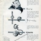 1959 Solvil et Titus Watch Company Switzerland Vintage 1950s Swiss Print Ad