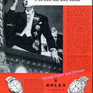 1960 Rolex Watches Worn By Men Who Guide Destinies of the World Swiss Print Ad Rolex Watch Co