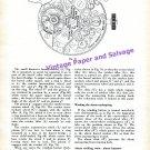 1960 Vulcain Cricket Golden Voice Calibre No. 406 The Alarm Wrist Watch by B Humbert