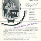 1957 Blancpain Rayville SA Blancpain Ladybird Watch Advert Vintage Swiss Ad