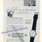 1955 Vacheron & Constantin 200 Year Anniversary Vintage Swiss Print Ad Suisse