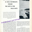 1955 Univeral Watch Ltd Polar Route Scandinavian Air System SAS Aviation Pilot