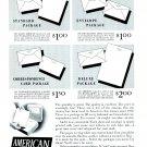 1949 American Stationery Company Peru Indiana 1940s Print Ad Advertisement