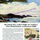 1944 Studebaker Cyclone Engines Boeing Flying Fortress WWII WW2 Vintage Print Ad