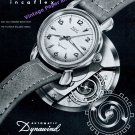 1951 Wyler Dynawind Automatic Watch Advert Vintage Swiss Print Ad Montres Wyler