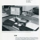 1969 Igema ISM Equipements Industriels de Montage SA Cary Swiss Print Ad Suisse