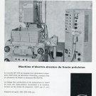 1969 SIP Societe Genevoise d'Instruments de Physique Swiss Print Ad Horlogerie