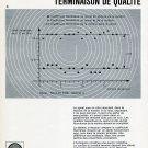 1969 Nivarox A Bon Spiral 1960s Swiss Print Ad Horology Horlogerie Switzerland